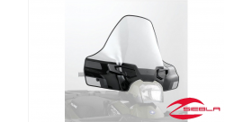 BLACK LOCK & RIDE TALL WINDSHIELD FOR SPORTSMAN 550, 850 BY POLARIS