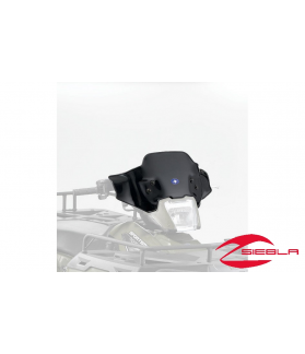 BLACK LOCK & RIDE LOW WINDSHIELD FOR SPORTSMAN 400, 500, 570, 800, X2, 6X6, TOURING BY POLARIS