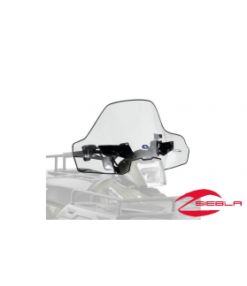 SMOKE LOCK & RIDE MID WINDSHIELD FOR SPORTSMAN 400, 500, 570, 800, X2, 6X6, TOURING BY POLARIS