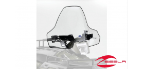 CLEAR LOCK & RIDE TALL WINDSHIELD FOR SPORTSMAN 400, 500, 570, 800, X2, 6X6, TOURING BY POLARIS