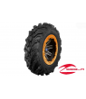 "REBLR 14"" FLAT BLACK BEADLOCK WHEEL W/ ITP MUD LITE TIRES"
