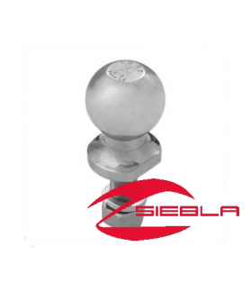 "TRAILER BALL & SHANK, 2"" BALL, ¾"" SHANK"