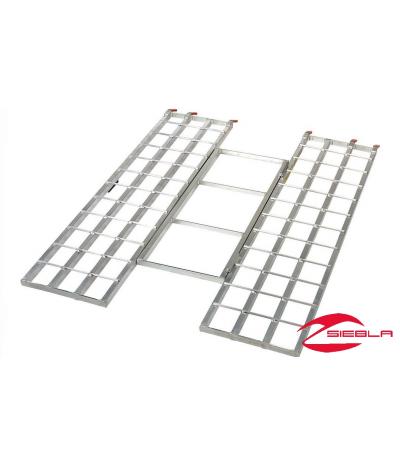 Aluminum Folding Ramps >> Lightweight Aluminum Tri Fold Ramps