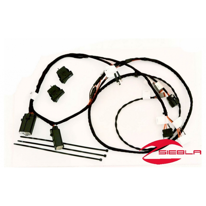 Rzr U00ae Xp 1000 Led Harness W   Two Connectors By Polaris