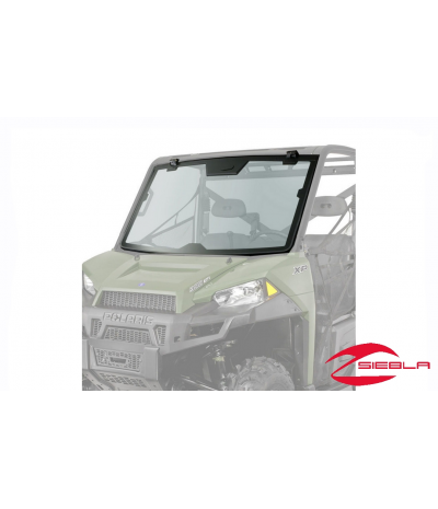 LOCK & RIDE PRO-FIT TIP-OUT GLASS WINDSHIELD FOR RANGER 900 & 900 CREW BY POLARIS
