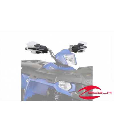 WHITE HANDGUARDS FOR ALL SPORTSMAN MODELS BY POLARIS