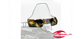 PURSUIT CAMO TALL WINDSHIELD FOR SPORTSMAN 400, 500, 570, 800, X2, 6X6, TOURING BY POLARIS