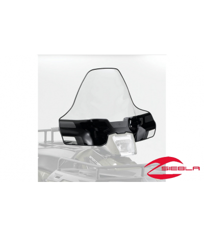 BLACK TALL LOCK & RIDE WINDSCREEN FOR SPORTSMAN 400, 500, 570, 800, X2, 6X6, TOURING BY POLARIS