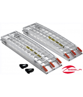 FOLDING HEAVY-DUTY ALUMINUM ARCHED RAMPS