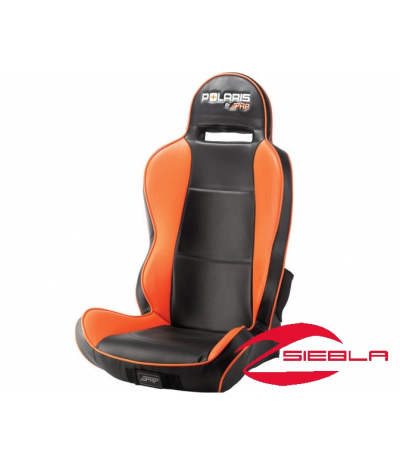 RZR XP 1000 BLACK AND ORANGE POLARIS SEAT BY PRP