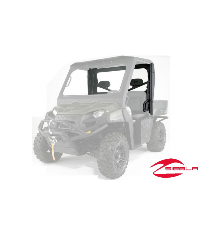 GLASS REAR PANEL FOR RANGER 800 FULL SIZE PRO-STEEL CAB BY POLARIS