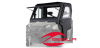 PRO-STEEL CAB SYSTEM W/ TIP-OUT WINDSHIELD & CANVAS DOORS- 800 FULL SIZE