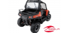 CANVAS REAR PANEL- RZR® 570, 800, 900 BY POLARIS®