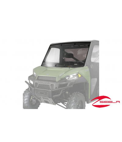 MID SIZE POLY HARD COAST WINDSHIELD BY POLARIS