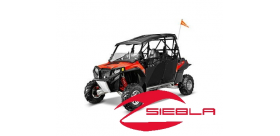 BLACK DOORS- RZR® 4 DOORS BY POLARIS®