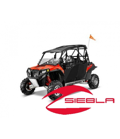 BLACK DOORS- RZR 4 DOORS BY POLARIS