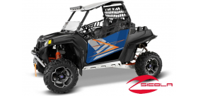 BLUE FIRE DOOR GRAPHICS- RZR® 570, 800, 900 BY POLARIS®
