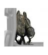 LOWER LOCK & RIDE DUAL GUN BOOT MOUNT FOR FULL SIZE RANGERS BY POLARIS